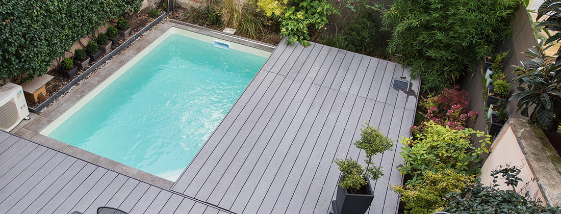 exemple terrasse mobile piscine