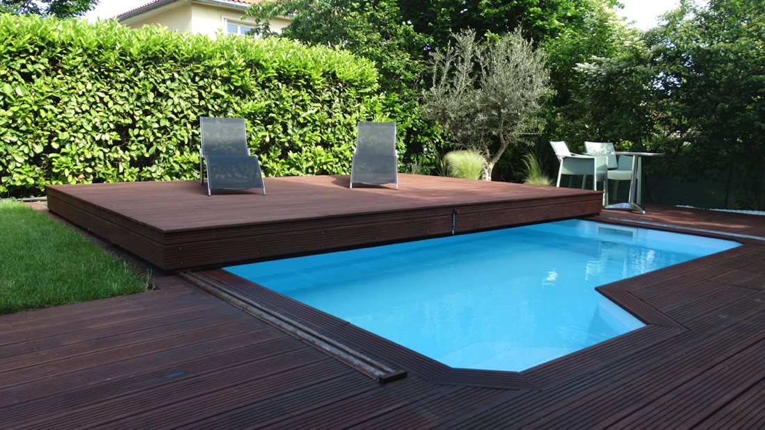 Terrasse bois mobile piscine for Terrasse pour piscine