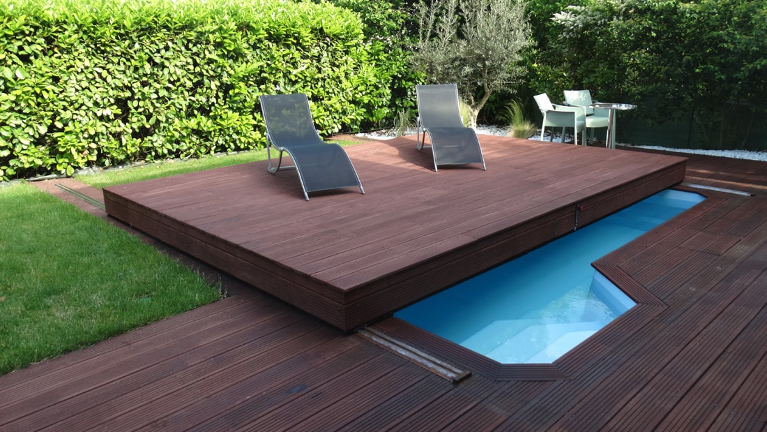Installation de terrasse mobile pour piscine toulouse alkira - Ideal protection piscine ...
