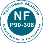 Norme NF Terrasse mobile