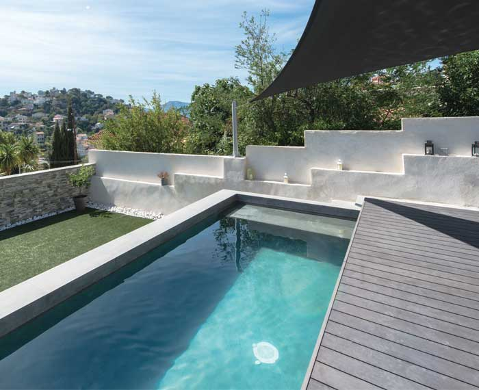 photo terrasse piscine piscine avec terrasse mobile terrasse avec margelles piscine bois. Black Bedroom Furniture Sets. Home Design Ideas