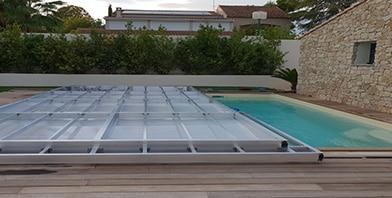 structure aluminium terrasse mobile