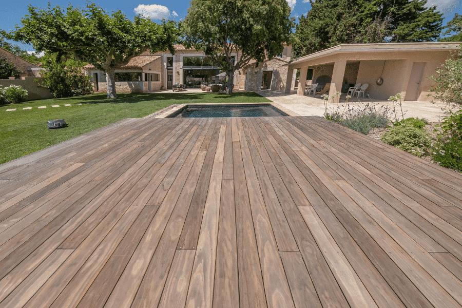 Terrasse bois Kebony